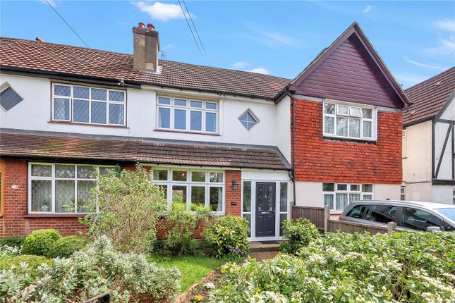 Thumbnail Terraced house for sale in Austin Villas, Woodside Road, Watford