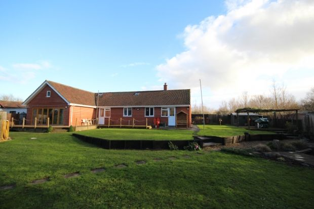 Thumbnail Detached house for sale in Plum Lane, Dunwear, Bridgwater
