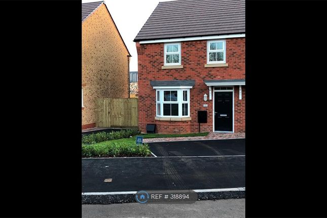 Thumbnail Semi-detached house to rent in Dewsbury Crescent, Stafford
