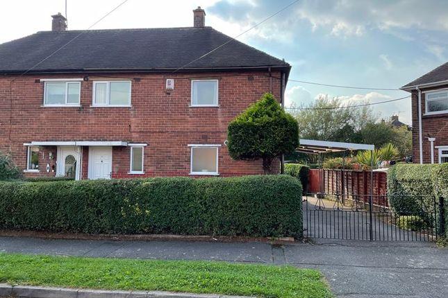 Thumbnail Semi-detached house for sale in Newbury Grove, Blurton, Stoke-On-Trent, Staffordshire