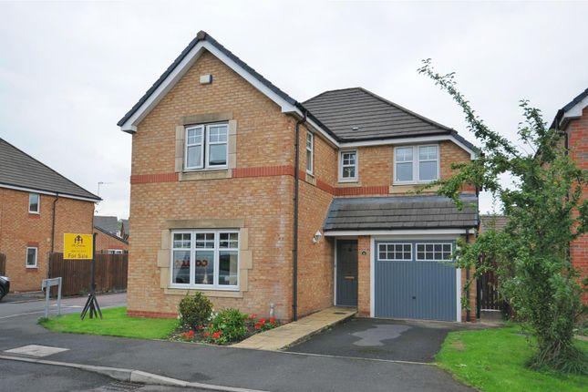 Thumbnail Detached house for sale in Bluebell Way, Huncoat, Accrington