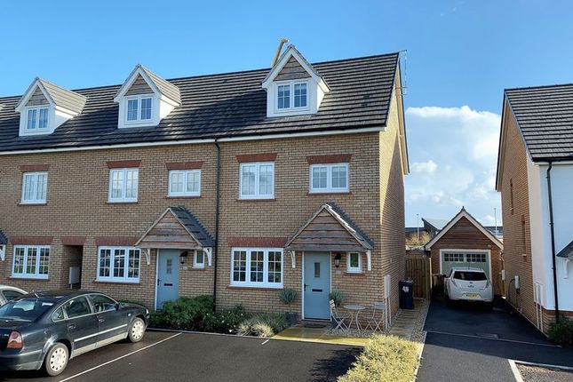 Thumbnail End terrace house for sale in Furs Close, Bathpool, Taunton