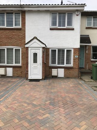 Thumbnail Terraced house to rent in Hales Park Close, Hemel Hempstead