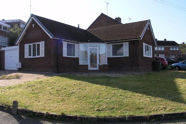 Thumbnail Detached bungalow for sale in Mayfield Road, Hurst Green, Halesowen