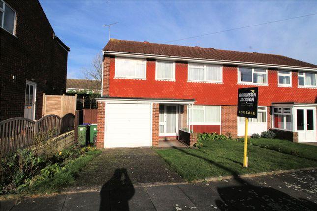 Semi-detached house for sale in Arran Close, Erith, Kent
