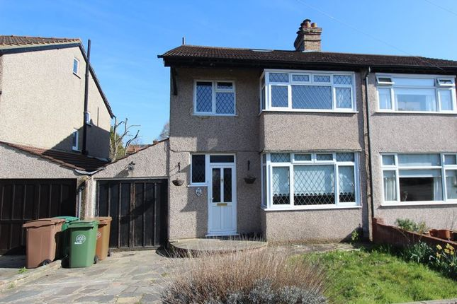 Thumbnail Semi-detached house for sale in Oxford Road, Carshalton