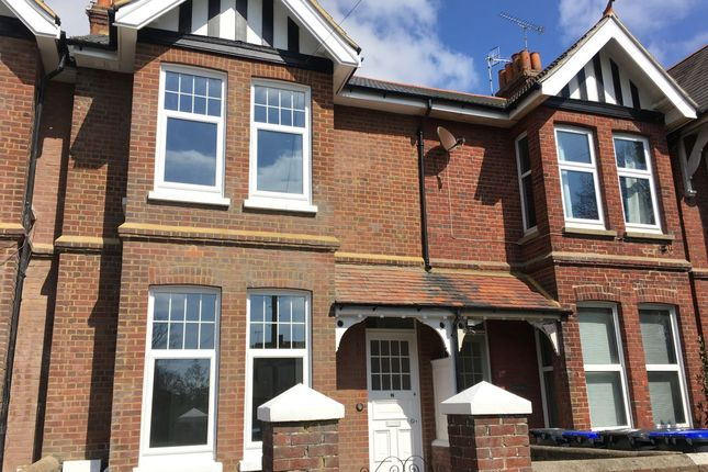 Thumbnail Terraced house to rent in Rugby Road, Worthing