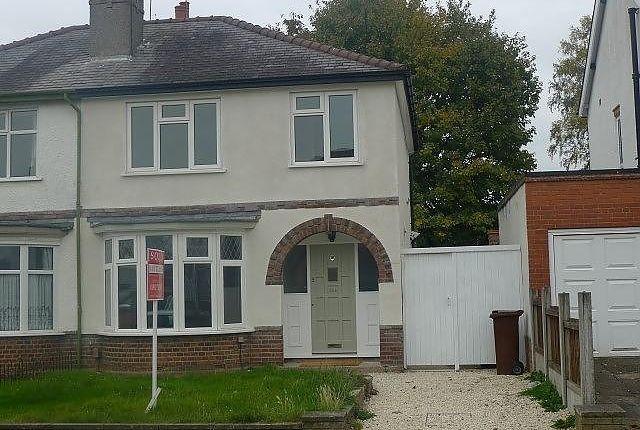 Thumbnail Property to rent in Windsor Avenue, Penn, Wolverhampton