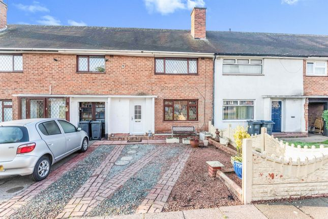 Thumbnail Terraced house for sale in Hall Hays Road, Birmingham