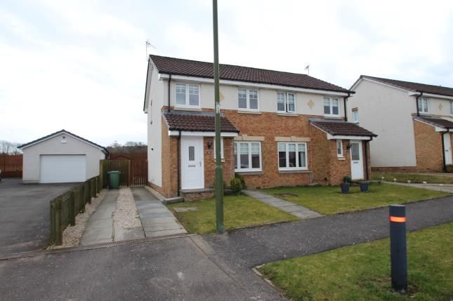 Thumbnail Semi-detached house for sale in Milnquarter Road, Bonnybridge, Stirlingshire