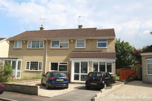 Thumbnail Semi-detached house for sale in Stonehouse Close, Combe Down, Bath
