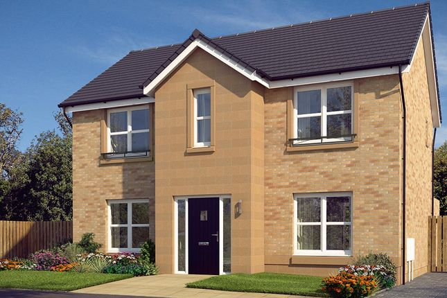 """Thumbnail Detached house for sale in """"The Danbury"""" at Cochrina Place, Rosewell"""