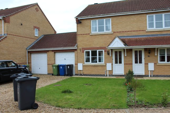 Thumbnail Semi-detached house to rent in Eastholm, Lincoln