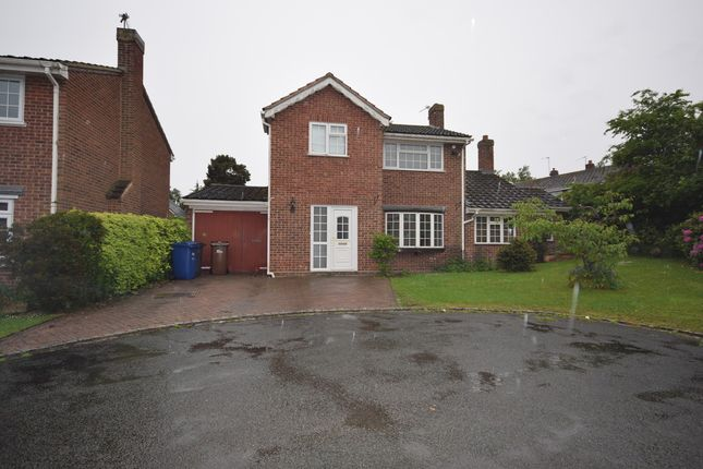 Thumbnail Detached house to rent in Swarbourn Close, Yoxall, Burton-On-Trent