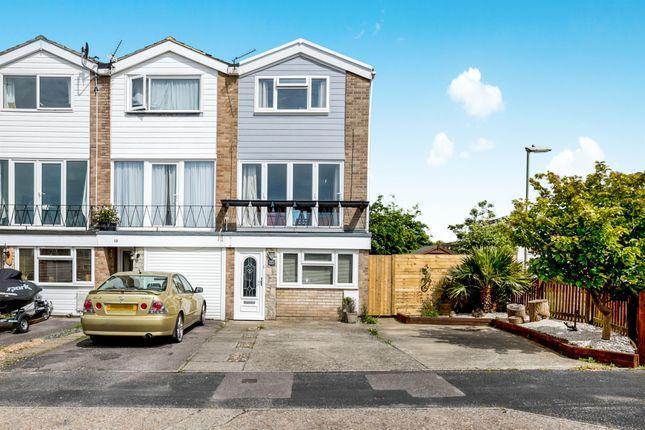 Thumbnail End terrace house for sale in Churcher Close, Gosport