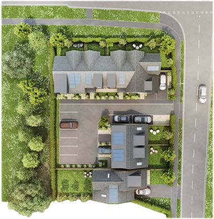 Site Plan of 5 St Thomas More Place, Stoney Lane, Winchester SO22
