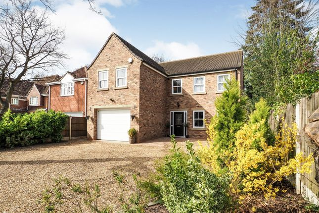 Thumbnail Detached house for sale in Grange Road, Bessacarr, Doncaster