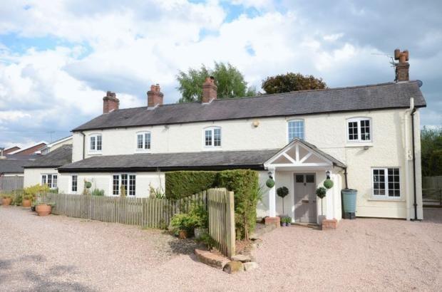 Thumbnail Detached house for sale in Holt Road, Rossett, Wrexham