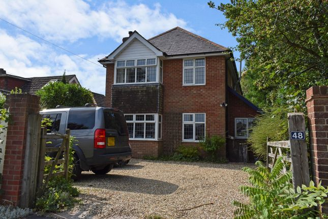 Thumbnail Detached house for sale in Ramley Road, Lymington