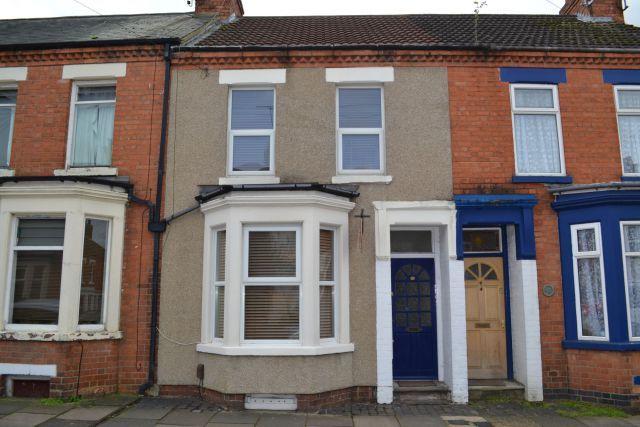 Front of Shelley Street, Poets Corner, Northampton NN2