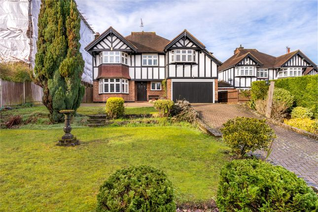 Thumbnail Detached house for sale in Woodcote Valley Road, Purley