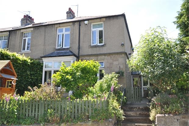 Thumbnail Terraced house for sale in Millfield Terrace, Hexham, Northumberland.