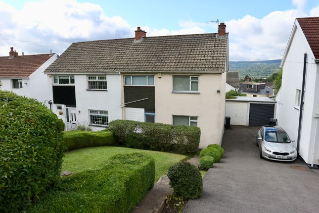 Thumbnail Semi-detached house for sale in Alexandra Avenue, Merthyr Tydfil
