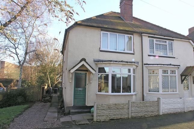 Thumbnail Semi-detached house for sale in Stourbridge, Lye, Church Road
