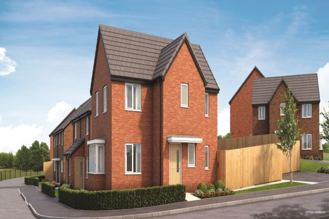 Thumbnail Detached house for sale in Knott Mill Way, Castlefields, Runcorn, Cheshire