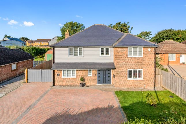 Thumbnail Detached house for sale in Canterbury Road, Hawkinge, Kent
