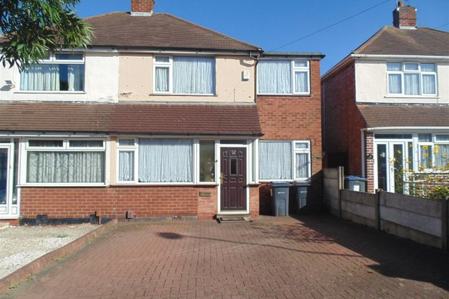 Thumbnail Semi-detached house for sale in Southgate Road, Great Barr, Birmingham