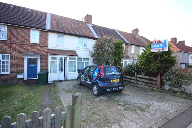 Thumbnail Terraced house to rent in Deansbrook Road, Edgware