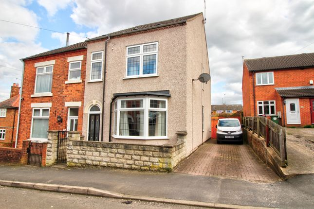 Thumbnail Semi-detached house for sale in Milward Road, Loscoe, Derbyshire
