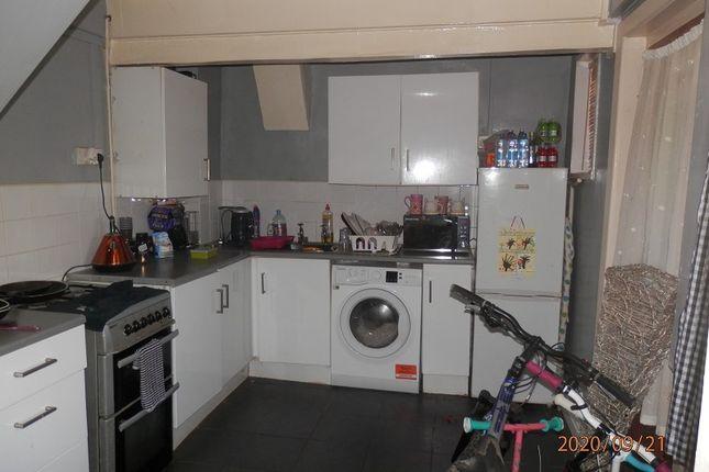Kitchen of Heol Pymmer, Tonyrefail, Rhondda Cynon Taff. CF39