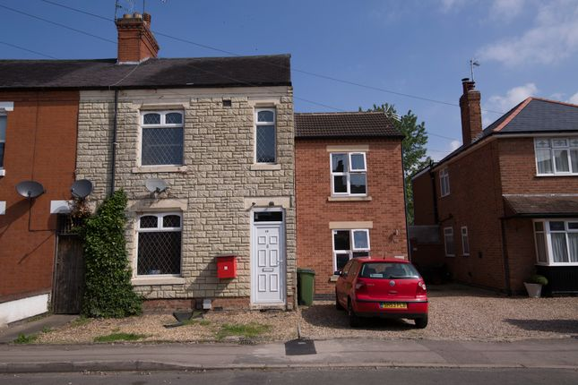 Thumbnail End terrace house for sale in Park Road, Blaby, Leicester