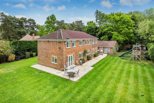 Thumbnail Detached house for sale in Apple Trees Place, Cinder Path, Hook Heath, Woking