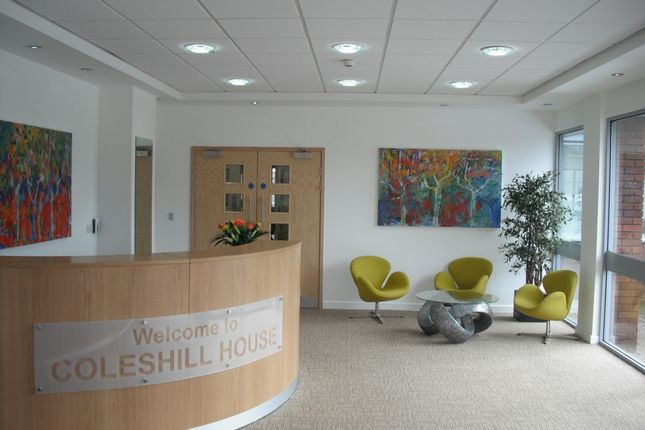 Thumbnail Office to let in Coleshill House, Coleshil