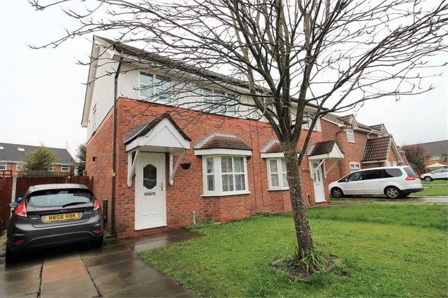 Thumbnail Semi-detached house for sale in Libra Close, Liverpool, Merseyside