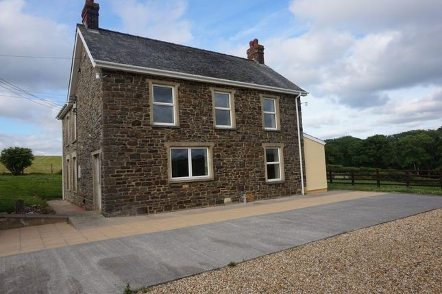 Thumbnail Detached house to rent in Llanfallteg, Whitland