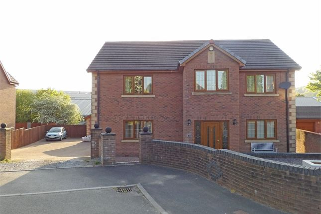 Thumbnail Detached house for sale in Cil Yr Onnen, Llangennech, Llanelli, Carmarthenshire