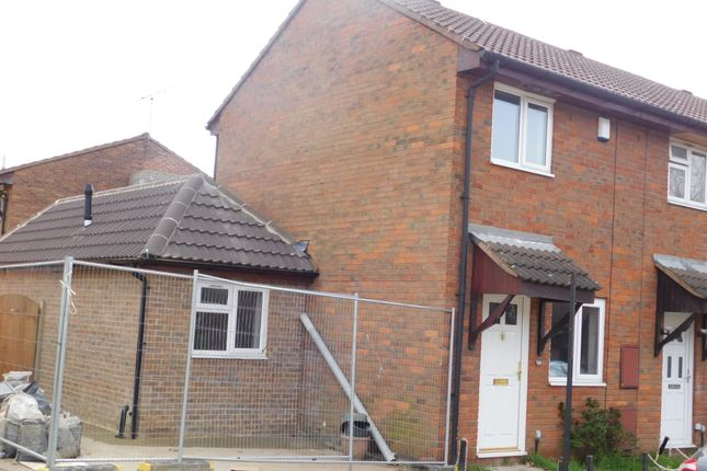Thumbnail End terrace house for sale in Walsham Close, London