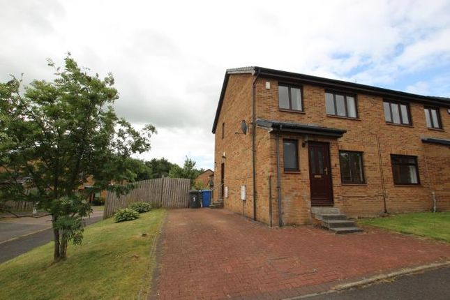 Thumbnail Semi-detached house to rent in Bryson Court, Hamilton