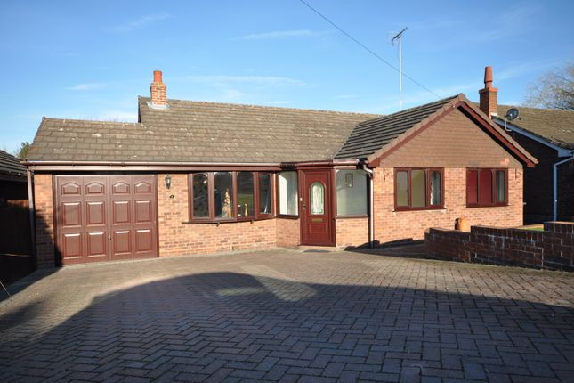 Thumbnail Detached bungalow for sale in St. Andrews Close, Clifton Campville, Tamworth
