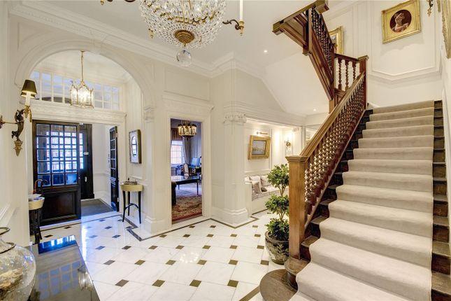 Entrance Hall of Lygon Place, Belgravia, London SW1W