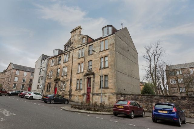 Thumbnail Flat for sale in Kelly Street, Greenock, Inverclyde