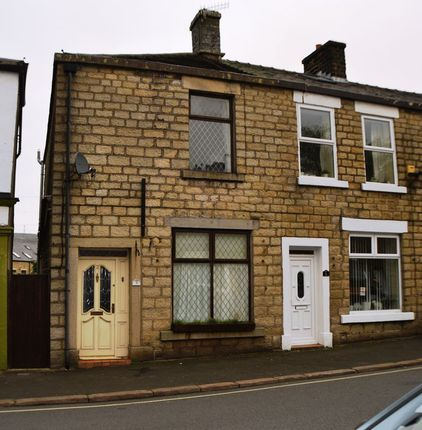Thumbnail End terrace house for sale in Station Road, Hadfield, Glossop