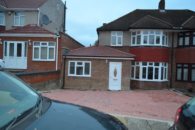 Thumbnail Semi-detached house to rent in Summit Close, London