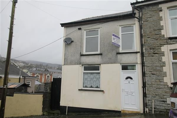 Thumbnail Terraced house for sale in Library Road, Penygraig, Tonypandy