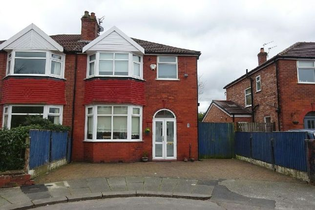 Semi-detached house for sale in Dean Avenue, Old Trafford, Manchester