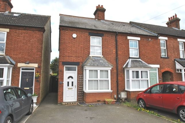 Thumbnail End terrace house to rent in Drove Road, Biggleswade